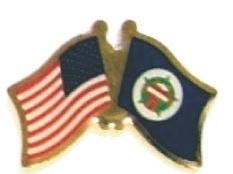 USA MINNESOTA - Lot 12 state flag friendship pins ec524 - $18.00