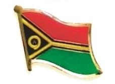VANUATU - Wholesale lot of 12 flag lapel pins ef250
