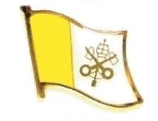 VATICAN - Wholesale lot of 12 flag hat lapel pins ef251