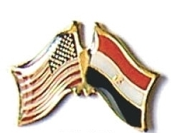 USA / EGYPT - 12 WORLD FLAG FRIENDSHIP PINS ec074
