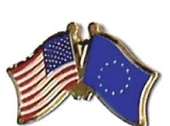 USA / EURORIN - 12 WORLD FLAG FRIENDSHIP PINS ec081