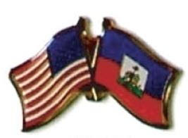 Usa / Haiti - 12 World Flag Friendship Pins ec103 - $18.00