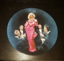 Diamonds Are A Girl's Best Friend Marilyn Monroe Collectible Plate 1990 - $20.00