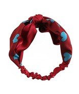 Lovely Girl Hair Accessories Wide Edge Knotted Headband Headscarf #07 - $16.21