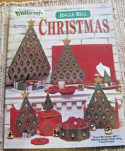 9 Holiday Tree Accessories plastic canvas pattern Booklet Jingle Bell Ch... - $6.92