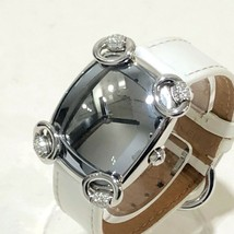 Gucci 117.5 Horsebit Cocktail Ladies Watch SS Leather Used Excellent condition  - $735.14