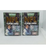 Lot of 2 1993 Mike Ditka's Picks NFL Bicycle Sports Playing Cards Deck SEALED - $92.07