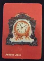 1972 Milton Bradley Seance Game - ANTIQUE CLOCK Card ONLY - $15.00
