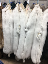 white Fox fur pelts/skins - $240.00