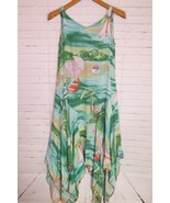 Magic of the Moon Cabo San Lucas Beach Asymmetrical Summer Dress Womens ... - $18.55