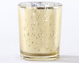 Gold Mercury Glass Tea Light Holder (Set of 4) - $13.32