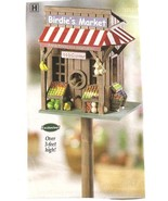 Market Birdhouse Wood - $21.50