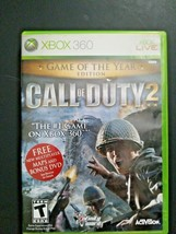 Call of Duty 2 -- Game of the Year Edition (Microsoft Xbox 360, 2006) - $7.83