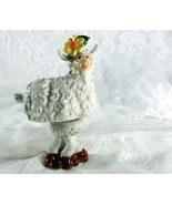 Wiggly Ceramic Sheep - $6.00