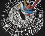 The Amazing Spiderman T-Shirt Men Medium Black Web Licensed Marvel Superhero New