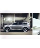 2008 Toyota HIGHLANDER brochure catalog 2nd Edition 08 US HYBRID - $8.00