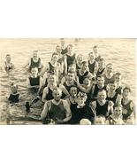 Saltair Beach Bathers Salt Lake Utah 1914 vintage Post Card - $8.00