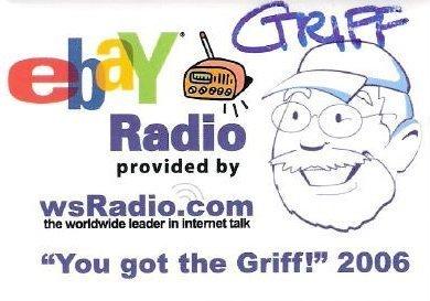 "eBay Live Pin eBay-ana ""You Got The Griff"" Button 2006  Las Vegas ""Givaway"" Pin"