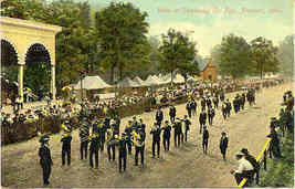 County Fair Sandusky Ohio vintage 1910 Post Card - $12.00