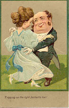 Shall We Dance Paul Finkenrath of Berlin 1907 Post Card - $7.00