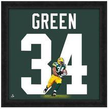 "Ahman Green Green Bay Packers -  20"" x 20"" Uniframe - $1.344,27 MXN"