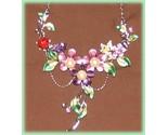 Ne purple floral crystals faux pearls close thumb155 crop