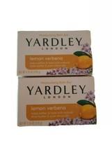 Yardley London Lemon Verbena Soap Bath Bar 4.25 oz. Set of 2 - $9.85