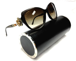 NEW Authentic BVLGARI Limited Mediterranean Brown 8097B 8097 Sunglasses 897 /13 - $450.00
