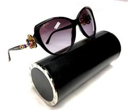 NEW Authentic BVLGARI Limited Mediterranean Violet 8097B 8097 Sunglasses 820 8H - $450.00