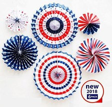 6 PACK, July 4th - Independence day decorations, Patriotic Decorations -... - $11.59