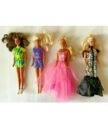 Lot Of Four Barbies From The 1990's Includes Clothing BD7  - £21.94 GBP
