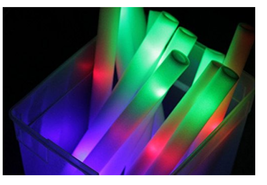 100 PCS, Flashing Glow Foam Sticks, Light Up, LED, Wands, Batons,DJ,Free... - $67.31