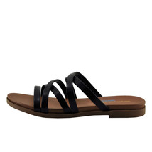 Soda Theta Black Women's Criss Cross Open Toe Sandals - $23.95+