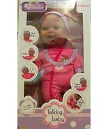 Baby Basics Talking Baby African American - $20.69