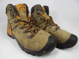 Keen Cleveland Soft Toe Size 11 2E WIDE EU 44.5 Men's Utility Work Boots Brown