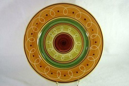 Pier 1 Green 2006 Etrusco Dinner Plate - $10.40