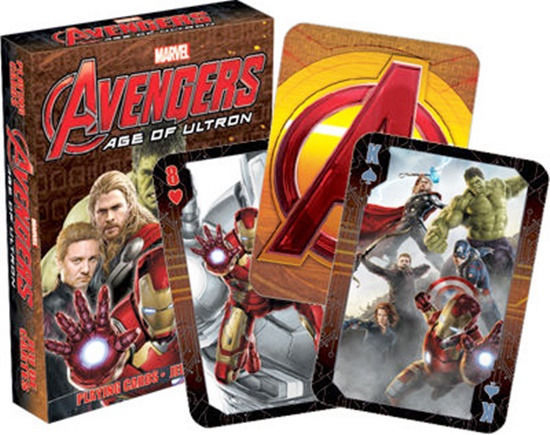 The Avengers Age of Ultron Movie Photo Illustrated Playing Cards, NEW SEALED - $6.89
