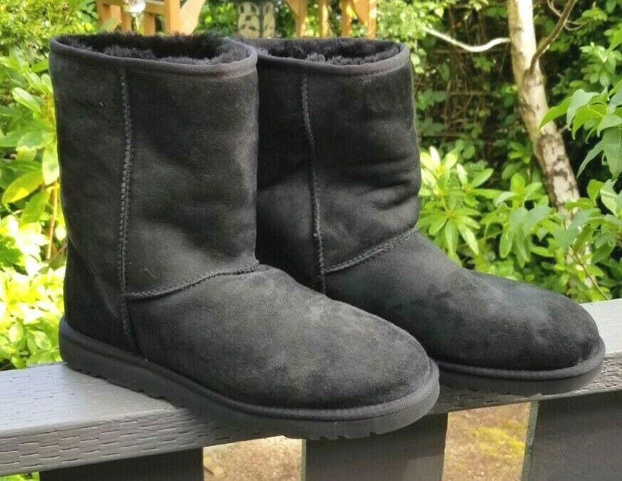 Women's Black UGG Boots Suede SN 5800 Size and 50 similar items