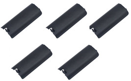 5 x Black Replacment Battery Cover for Nintendo Wii Controller Remote - $6.29