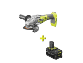 18-Volt ONE+ Cordless Brushless 4-1/2 in. Cut-Off Tool/Angle Grinder with 4.0 Ah - $244.99