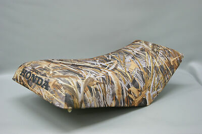 Primary image for HONDA TRX450 FOREMAN  Seat Cover 1998-2004  DRT CAMO or 25 Colors (BLACK ST)
