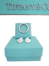 * Tiffany & Co Sterling Silver Key Ring Key Chain Round Circle Mint  - $85.00
