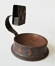 antique APOLLO STUDIOS HAMMERED real COPPER arts crafts MATCH BOX HOLDER... - $175.00