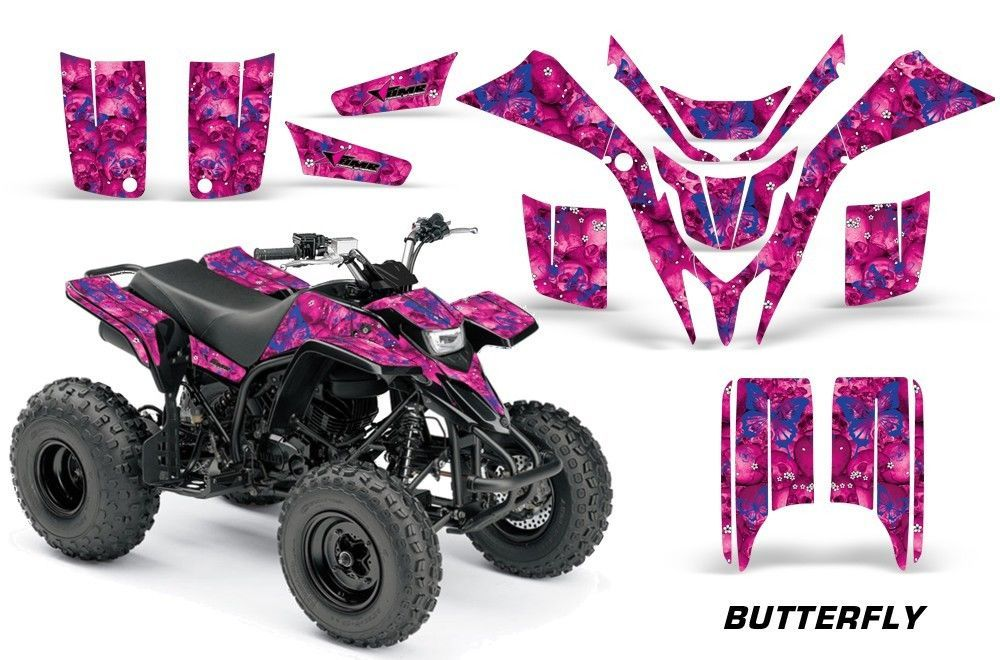 ATV Graphics Kit Quad Decal Sticker Wrap For Honda TRX700XX 2009-2015 BONES BLK