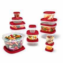 Rubbermaid Easy Find Vented Lids Food Storage Containers 26-Piece Set Bonus - $17.77