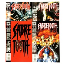Sabretooth Death Hunt Complete 4 Issue Limited Series Marvel 1993 VF NM - $9.85