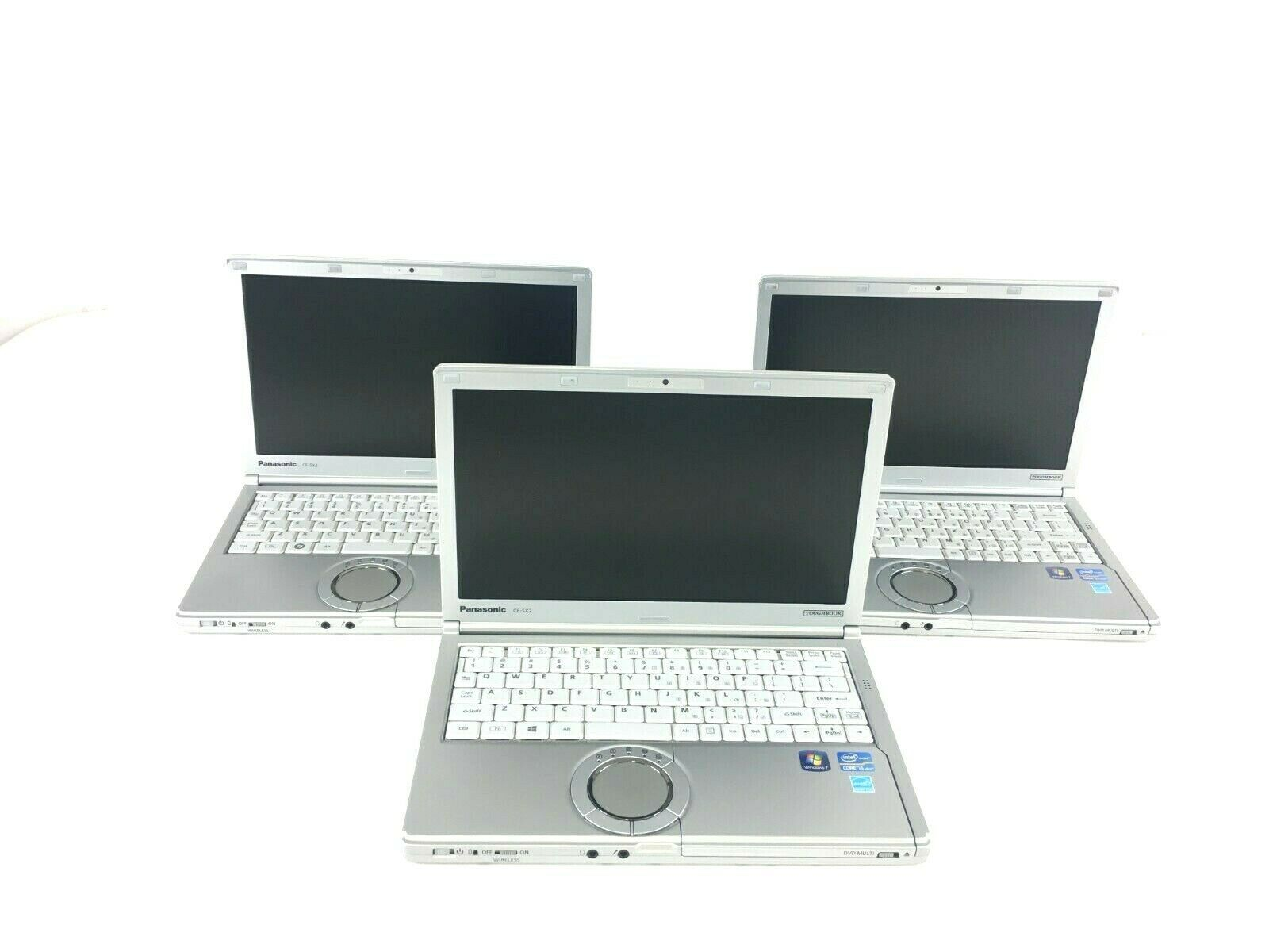 Primary image for LOT OF 3 Panasonic CF-SX2  TOUGHBOOK core i5 3320M 2.6Ghz 8 GB RAM