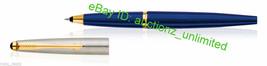 Parker Galaxy Standard Roller Ball Pen Ballpen GT- Blue -New Sealed 100%... - $10.79
