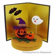 Japanese Traditional Folk Art Crepe Halloween Pumpkin Decor Figure Made ... - $35.63