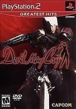 Devil May Cry (Sony PlayStation 2, 2002) VERY GOOD - $6.18
